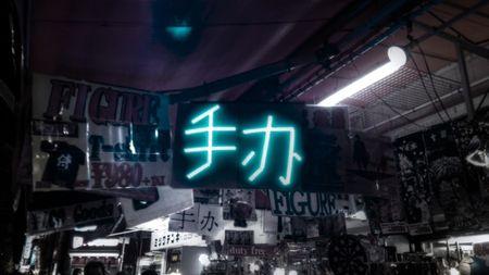 アキバの中国語のガレージキット